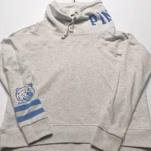 VS PINK - UCLA Gray High Neck Sweatshirt